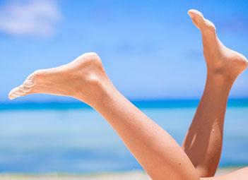 depilación láser pies o manos